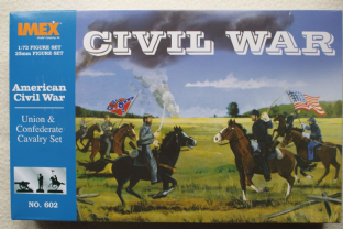 Imex 1/72 IM602 Union & Confederate Cavalry Set (ACW)